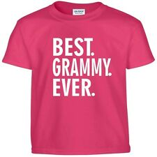 Best GRAMMY Ever Funny Mothers Day Birthday Christmas Grandma Gift Tee T Shirt