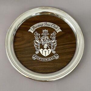 SHERIDAN Silverplate BURNING TREE Powtowmack Golf Club Bethesda SERVING TRAY