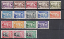 St Helena 1938/49 Mint Mounted to 10/- Cat £140