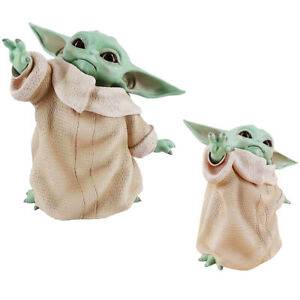 Star Wars Mandalorian Baby Yoda PVC Actionfigur 8CM Modell Spielzeug Puppe Gifts