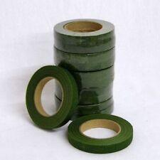 Green Floral Stem Tape x 12