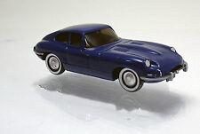 Wiking 080302 Jaguar E-Type Coupé -  Modell 61 -  dunkelblaumetallic