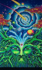 Psychedelic Backdrop Mushroom Tapestry Trippy Wall Art UV Decorations Boho Room