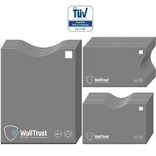 RFID & NFC Blocking Schutzhülle Set für Kreditkarten Reisepass ** T�œV ** 12X