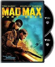 Mad Max: Fury Road (DVD, 2015, 2-Disc Set) NEW