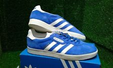 "ADIDAS GAZELLE SUPER BLUE/WHITE TRAINERS UK 8.5 BNIBWT. CLICK ⬇""SEE OTHER ITEMS"""