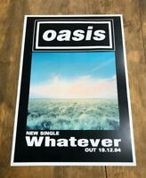 Oasis Whatever promotional print size A3 quality heavy print others avaiable
