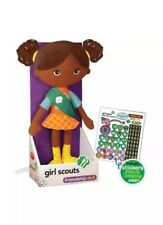 Yottoy Carly Girl Scouts Friendship Doll Stuffed Plush Toy NIB