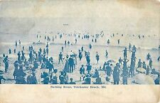 c1910 Bathing Scene, Tolchester Beach, Maryland Postcard