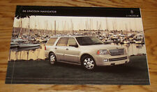 Original 2006 Lincoln Navigator Sales Brochure Folder 06