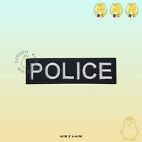 Police Movie Comics Embroidered Iron On Sew On Patch Badge For Clothes Bags etc