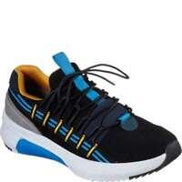 Skechers Men's Modern Jogger 2-0 Loop [ Black ] Fashion Sneakers - 69706BKMT