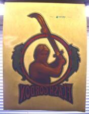 VTG 80s FLASH GORDON Sam J Jones poster Queen movie t-shirt Iron-On nos Transfer
