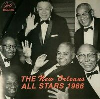 The New Orleans All Stars 1966 US IMPORT **VERY RARE IN UK** **NEW CD**