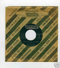 45 RPM SP JUKE BOX HENRI GENES TANTINA DE BURGOS  / HECTOR