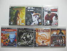 PLAYSTATION 3 ** Lots of 7 ** Games FACTORY SEALED