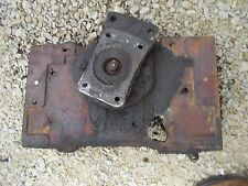 Farmall 340 Rc Tractor Ih Front Steering Bolster Assembly Gear Box To Pedestal