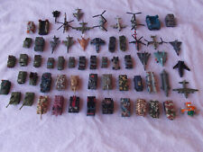 Lot 61 Vintage Micro Machines Lgti & Other Military Tanks Planes Boats!