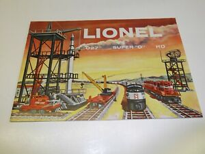 "1958 LIONEL TRAIN CATALOG MAGAZINE ""O27"" SUPER ""0"" HO 54 PAGES"