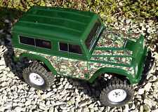 RC Rock Crawler GREEN CAMOUFLAGE Stickers Decals  FTX RGT HSP OUTBACK LR RANGER