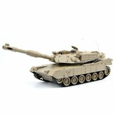 RC Tank M1A2 USA Airsoft Tank Toy Military Battle Vehicle with Remote & Sounds