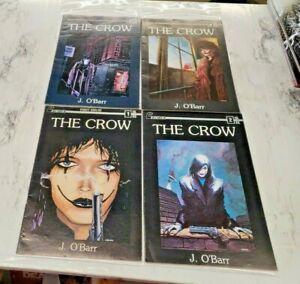 The Crow #1-4 Calibre Press (1989) Mid Grade 1,2,4 1ST Prints 3 2nd Print