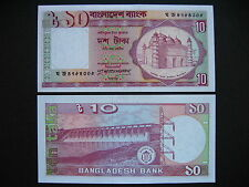 BANGLADESH  10 Taka 1982  (P26c)  UNC