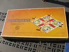 Parcheesi Game of India Gold Seal Edition Selchow & Righter 1964 Game Complete