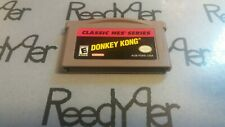 Donkey Kong CLASSIC NES SERIES Nintendo GameBoy Advance GBA SP DS Lite Micro bro