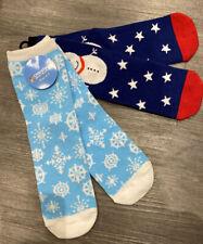 Assorted Design Ladies Xmas Socks 2PK Cotton Funny Gift Christmas Festive Winter