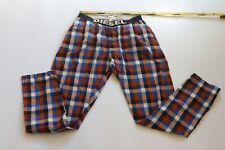 Diesel plaid Lounge Pants Pajamas Mens XL Cotton