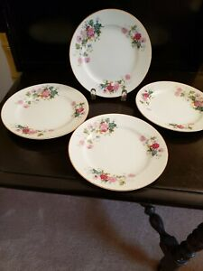 "4 GARDENA BY NORITAKE BREAD & BUTTER PLATES  6 3/8"" EXCELLENT CONDITION"