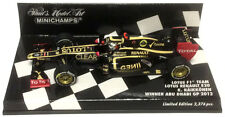 Minichamps Lotus E20 Winner Abu Dhabi GP 2012 - Kimi Raikkonen 1/43 Scale