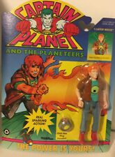 1991 vintage CAPTAIN PLANET Action Figure Planeteer Wheler with ring