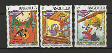 Walt Disney Anguilla 3 timbres neufs Christmas 1983 /T3459