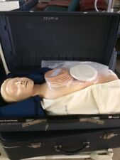 LADERDAL RESUSCI ANNE CPR  MANNEQUIN IN ITS CASE READY 4 U   5 ARE AVAILABLE