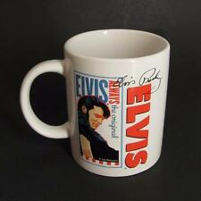 Elvis Presley The Original Signature Mug Ceramic Coffee Cup White 10 Oz