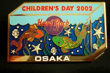 HRC Hard Rock Cafe Osaka Childrens Day 2002 Aquarium Fish SCENE le300 Koi