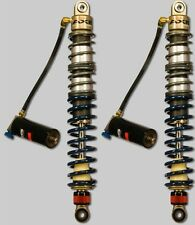 Custom Axis Dual Adjust Triple Rate Front Shocks Yamaha Raptor 700 06 07 08 09