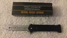 """Joker Why So Serious Black w/Silver Blade Assisted Opening TacForce Knife 8"""" New"""