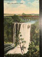Vintage Postcard>1907-1915>Wailua Falls>Maui>Hawaiian Islands>Hawaii