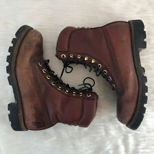 Chippewa Boots: Men's Oiled Redwood Work Boots 72005 Sz 8W