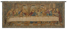 The Last Supper VII Italian Tapestry, A - H 26 x W 62 , Gold