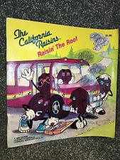 THE CALIFORNIA RAISINS Raisin' The Roof 1988 VINTAGE BOOK Paperback APPLAUSE New