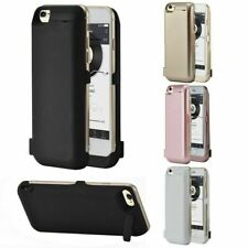 For iPhone 7 8 6 Plus  Battery Case Cover Back Power Bank Pack Charger UK
