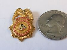 A1 Department of the Interior ONEIDA INDIAN NATION POLICE Tribal Lapel Pin