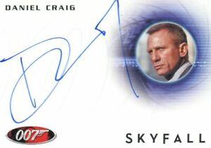 James Bond Autographs & Relics Daniel Craig Autograph Card A228