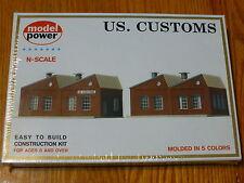 Model Power N #1547 Building Kit -- United States Customs Warehouse - 7-1/2 x 3