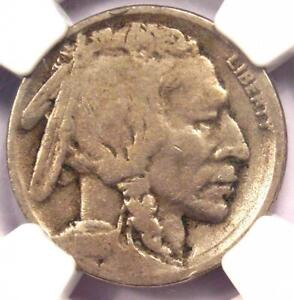1918/7-D Buffalo Nickel 5C - NGC VG Details - Rare Overdate Variety Coin!