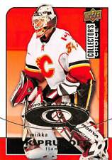 2008-09 Collector's Choice Cup Quest #CQ48 Miikka Kiprusoff SR